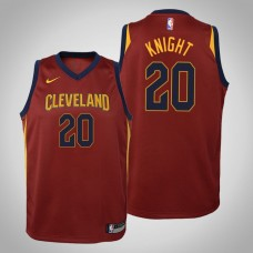 Youth Cleveland Cavaliers #20 Brandon Knight Maroon Icon Jersey