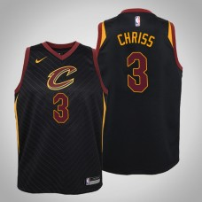 Youth Cleveland Cavaliers #3 Marquese Chriss Statement Jersey