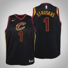 Youth Cleveland Cavaliers #1 Nik Stauskas Statement Jersey