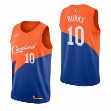 Youth Cleveland Cavaliers #10 Alec Burks Orange City Jersey
