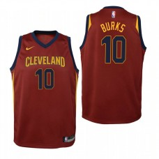 Youth Alec Burks Cavaliers Icon Edition Maroon Jersey