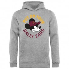 Youth Cavaliers Disney Rally Ears Pullover Hoodie - Ash