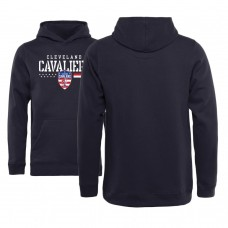 Youth Cavaliers Hoops For Troops Pullover Hoodie