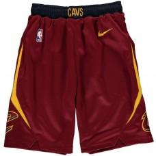 Youth Cavaliers Wine Icon Edition Swingman Basketball Shorts