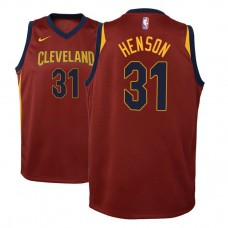 Youth Cleveland Cavaliers #31 John Henson Maroon Icon Jersey