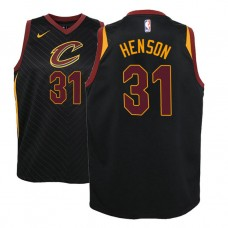 Youth John Henson Cavaliers Statement Black Jersey