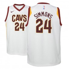 Youth Cleveland Cavaliers #24 Kobi Simmons Association Jersey
