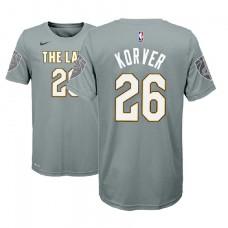 Youth Cleveland Cavaliers #26 Kyle Korver City T-Shirt