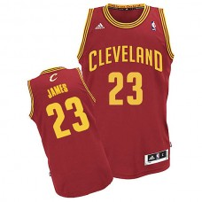 Youth Cleveland Cavaliers #23 LeBron James Red Road Jersey
