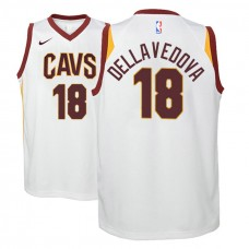 Youth Cleveland Cavaliers #18 Matthew Dellavedova White Association Jersey